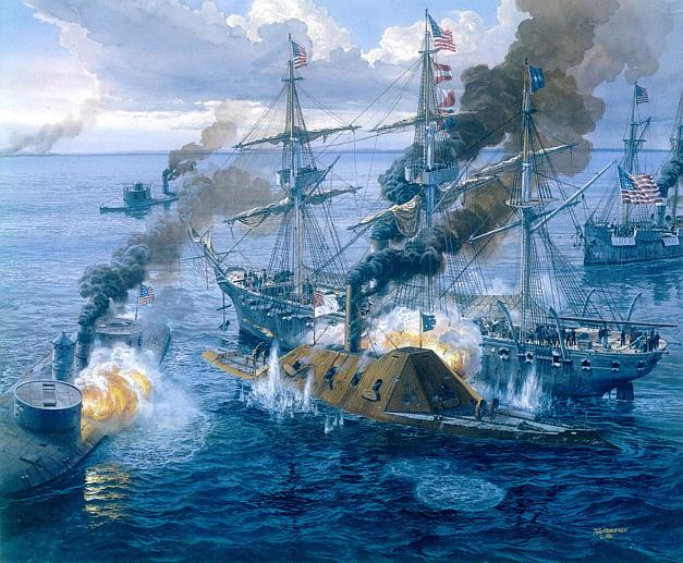 Battle at fort sumter